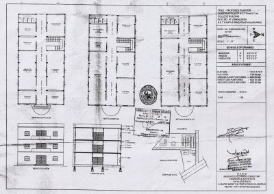 APPROVED BUILDING PLAN